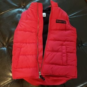 Carters red puffer vest